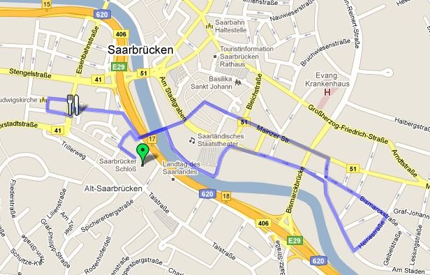 NightWalk Saar Route