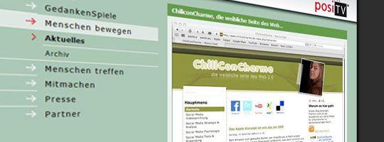 posiTV stellt ChiliConCharme und den AdventPodcast vor