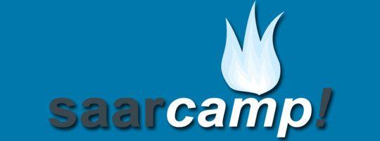Twitterwall für alle, die nicht zum Saarcamp kommen können