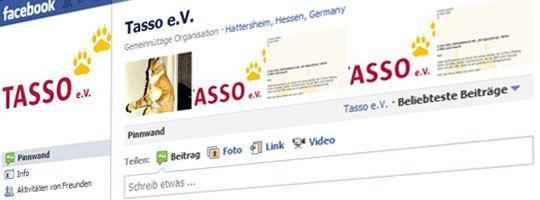 TASSO e.V. – Facebookseite mit 40.000 Fans gelöscht! [Update]