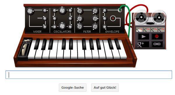 Best of Google Doodle Robert Moog
