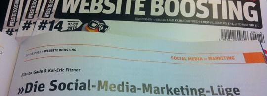 Die Social-Media-Marketing Lüge: Gratisexemplar für Newsletter-Abonnenten