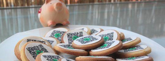 Back dir dein Glück! – Teil 2 der QR-Code Kekse