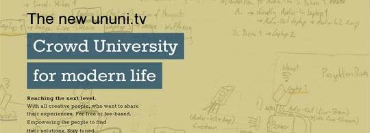 Eigene Veranstaltung für abgelehnte #rp13 Sessions – Kooperation mit ununi.tv