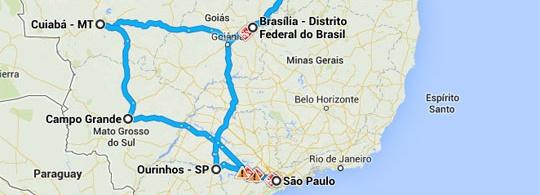 Drei Monate allein durch Brasilien