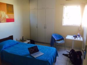Mein Zimmer bei der Gastfamilie